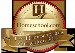 Mosaica Online Top Homeschooling Curriculum Award 2014